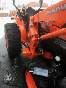 The Power Badger Kubota Tractor